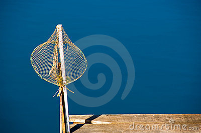 Isolated fishing net