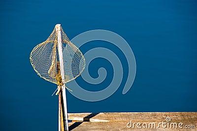 Isolated fishing net