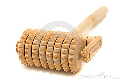 Handheld Wooden Massager