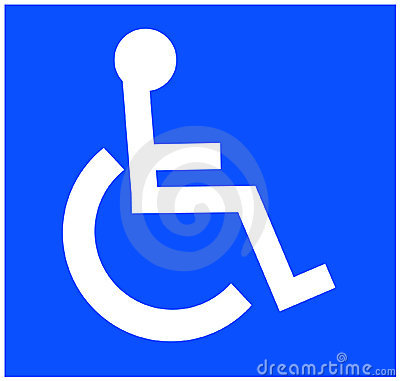 Free Handicap Symbol Stock Photography - 4976682