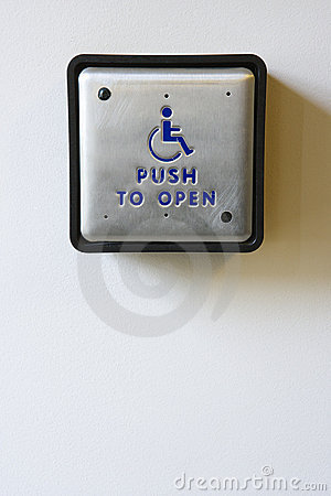 Handicapped Access Entrance Pad