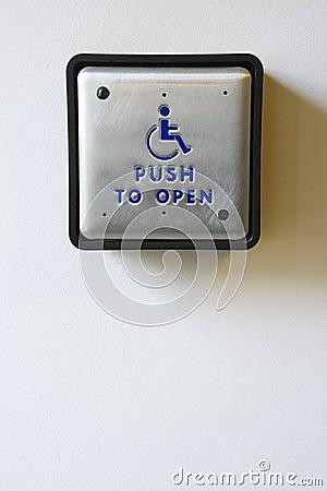 Handicapped Access Entrance Pad