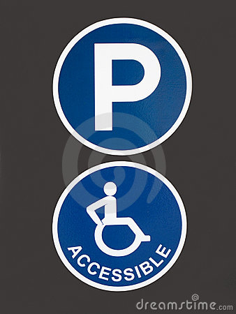 Handicapped Accessible Parking