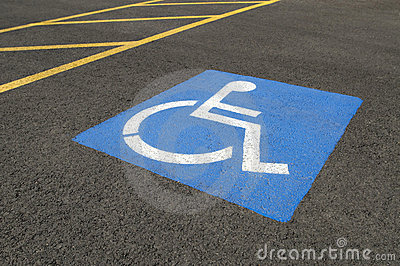 Handicapped Parking Symbol