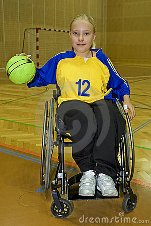 Free Handicapped Person Sport In The Wheelchair Stock Photos - 6698483