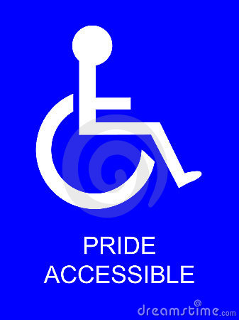 Free Handicapped Pride Parking Stock Image - 2302791