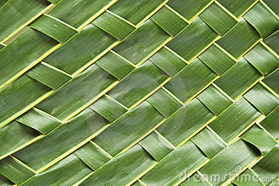 Handicraft Art With Coconut Leaf Stock Photo Image 20424540