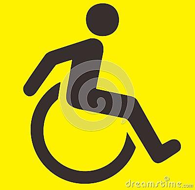 Handikapptecken