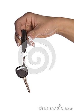 Handing out car keys