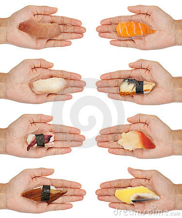 Handing Out Sushi