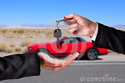 Handing over the keys