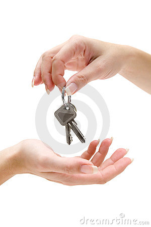 Free Handing Over Keys Royalty Free Stock Photos - 4598718
