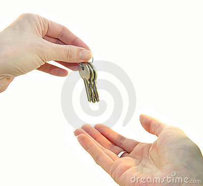 Free Handing Over The Keys Stock Photos - 254553