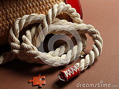 Handle bag knot