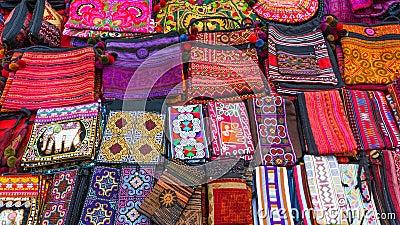 Handmade bags in Thailand