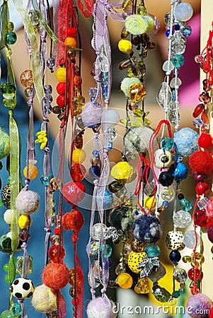 Free Handmade Beads Royalty Free Stock Photo - 11143905