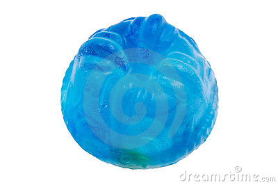 Handmade Blue Soap