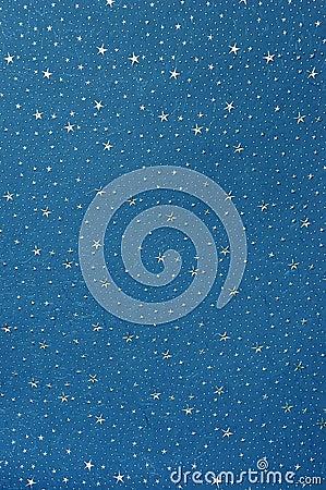Free Handmade Blue Star Paper Stock Photo - 223490