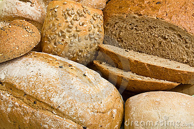 Handmade Breads background