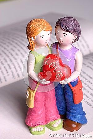 Handmade Doll - I love you