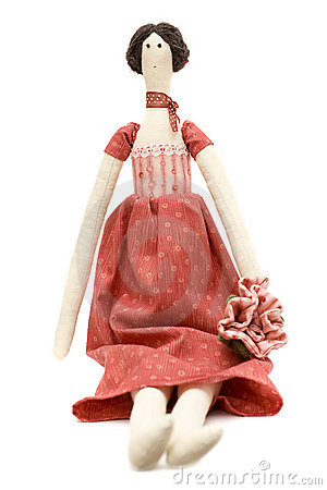 Handmade doll princess
