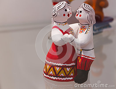 Handmade dolls love