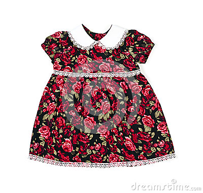 Handmade dress for baby girl