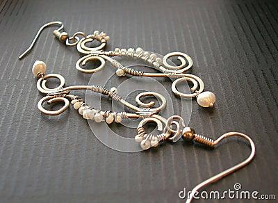 Handmade ear-rings