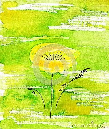 Handmade flower.