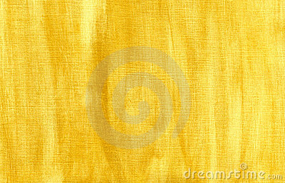 Handmade gold background on canvas.