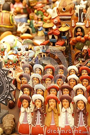 Handmade Indian dolls, Pisac market