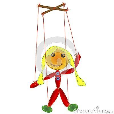Handmade marionette