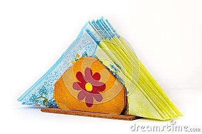 Handmade napkin holder
