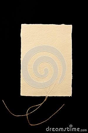 Handmade paper texture