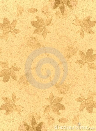 Free Handmade Paper Texture Gold Stock Image - 2638241