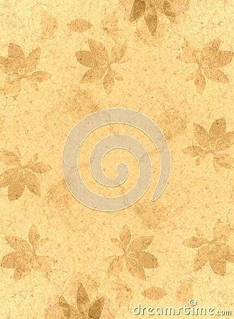 Handmade Paper Texture Gold