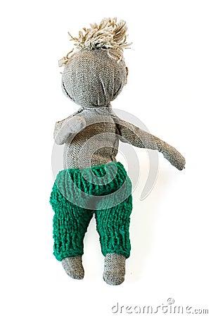 Handmade puppet