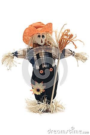 Free Handmade Scarecrow Stock Image - 1287161
