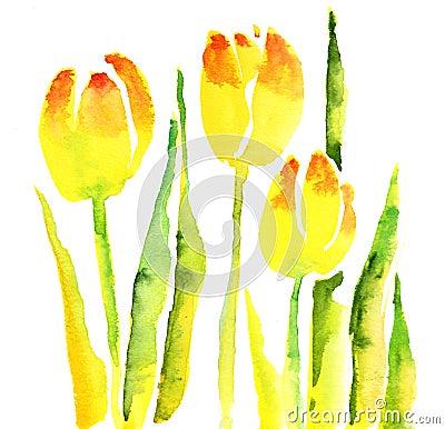 Handmade tulip