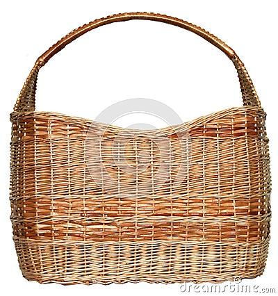 Free Handmade Wicker Basket Stock Photo - 7953250