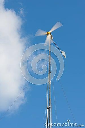 Handmade wind generator