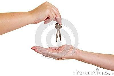 Handover of keys