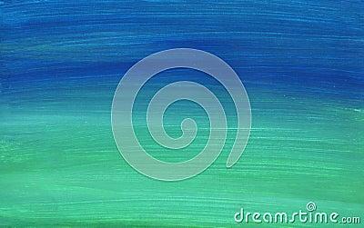 Handpainted background