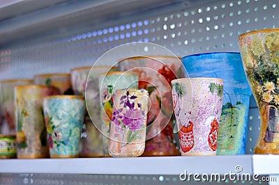 Handpainted mugs