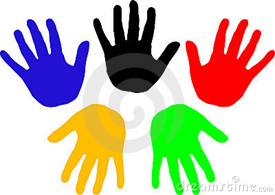 Handprints (vector)