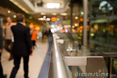 Handrail in Shopping Mall
