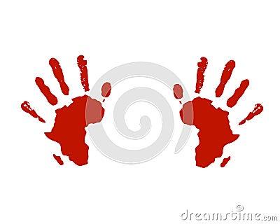 Hands of africa help social