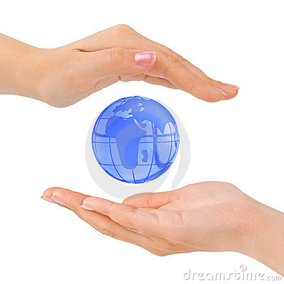 Free Hands And Earth Stock Photography - 11819802