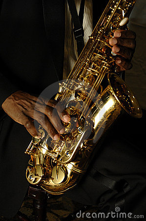Free Hands And Saxophone Stock Photo - 9614070