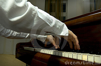 Hands and Arms at the Piano